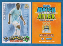 Manchester City Kolo Toure Ivory Coast